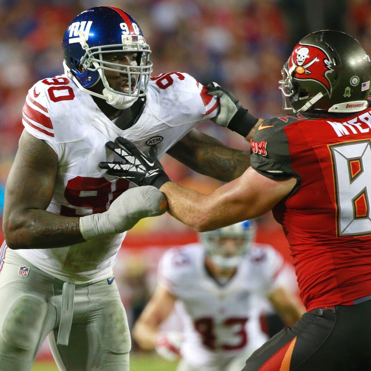 Jason Pierre Paul Espn: Jason Pierre-Paul Confident New York Giants Will Sack Tom