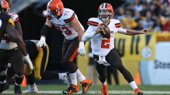 Cleveland Browns quarterback Johnny Manziel