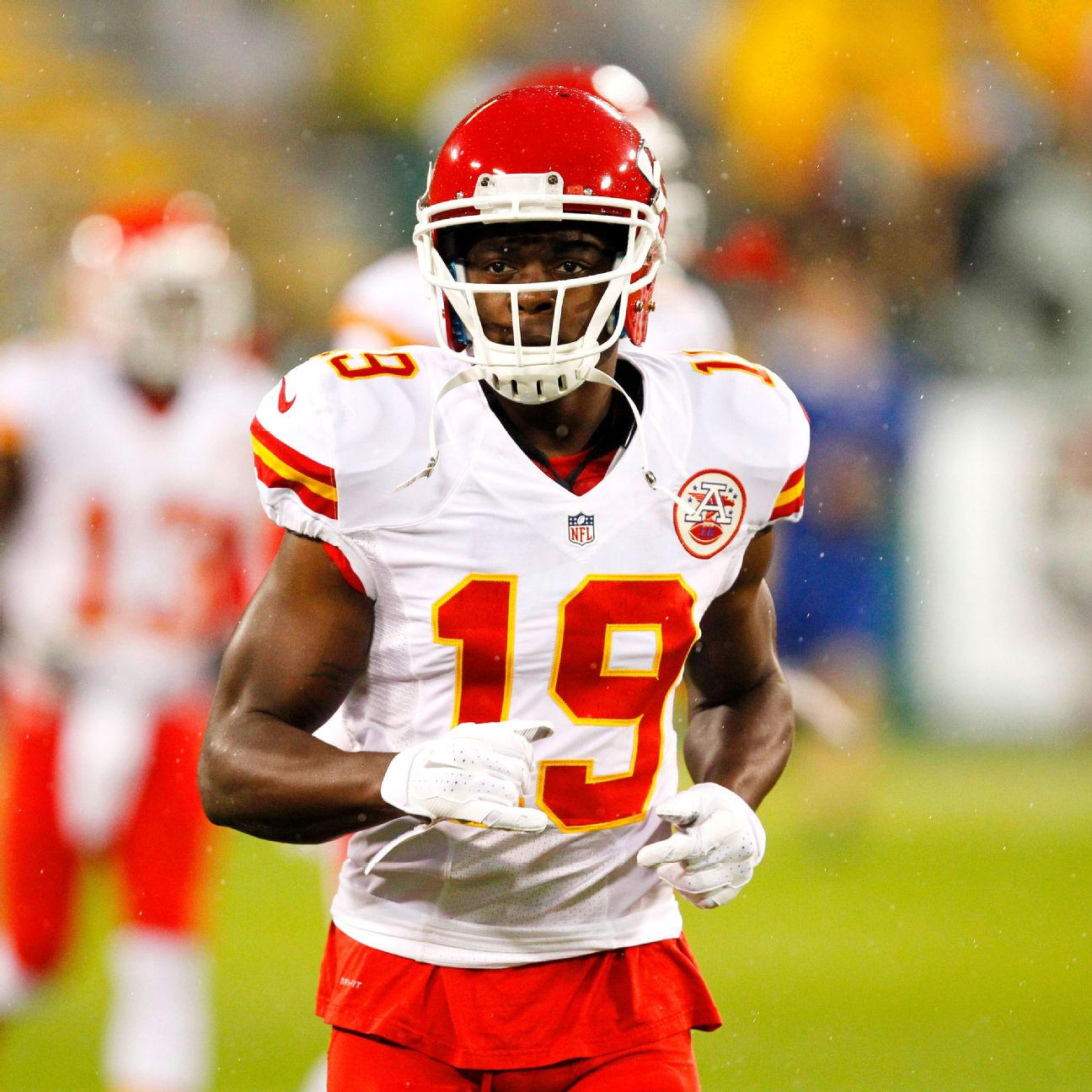 Using Jeremy Maclin as returner shows that Chiefs take the job …