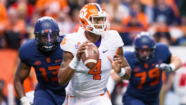 Follow live: Fumbles frustrating Clemson early on