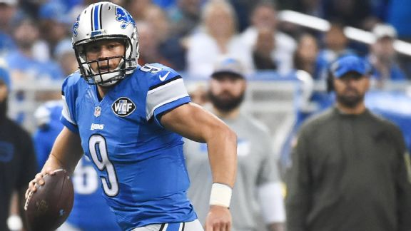 Matthew Stafford vs. Mark Sanchez a battle of 2009 top-5 picks