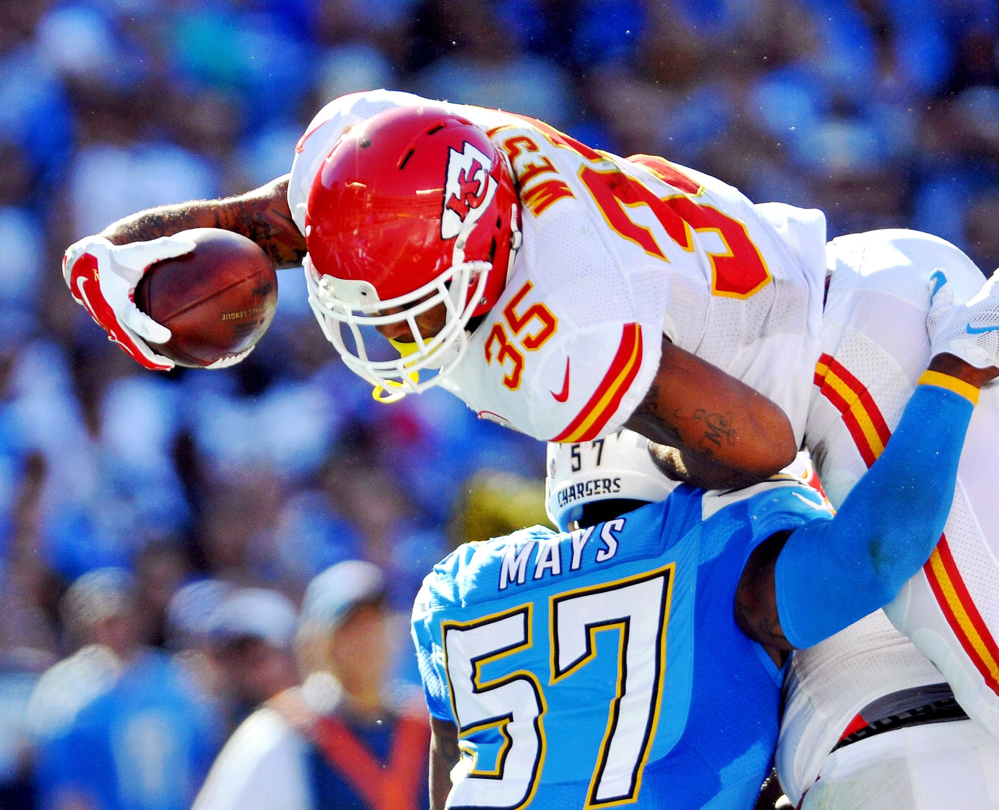 Charcandrick West Best NFL Photos From Week 11 ESPN