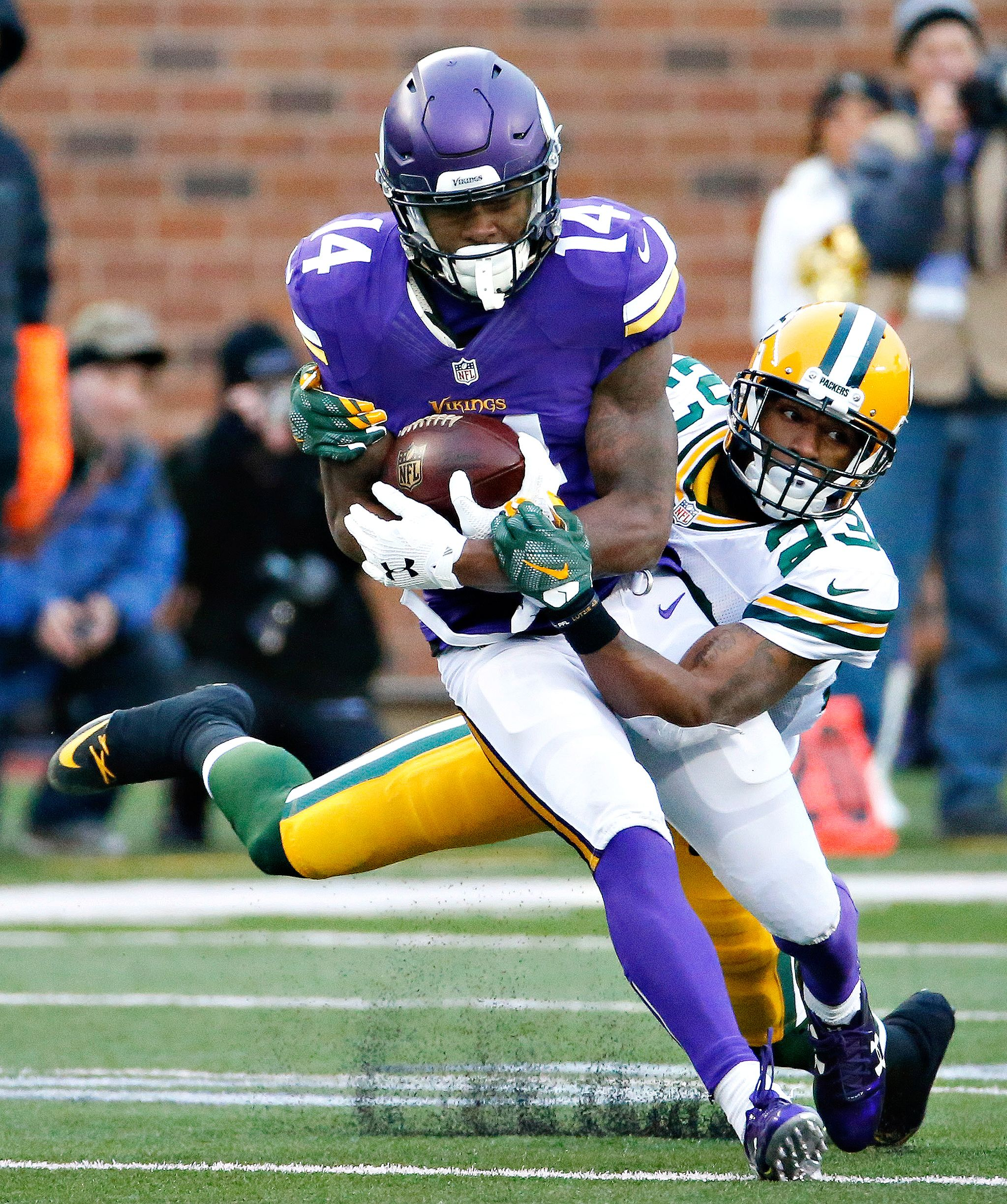 Stefon Diggs s Packers vs Vikings ESPN