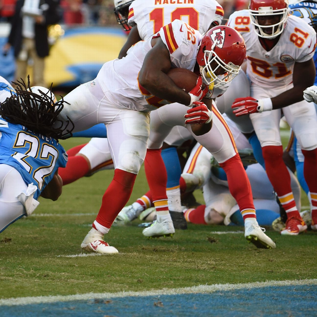 Chiefs say Spencer Ware will play key role this Sunday