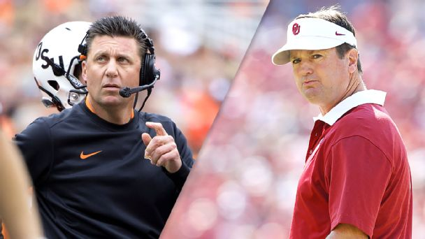 Watch live: Sooners running wild amid Bedlam
