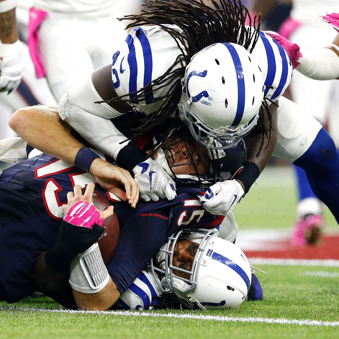 Rookie Clayton Geathers is cementing his spot as Colts' sa…