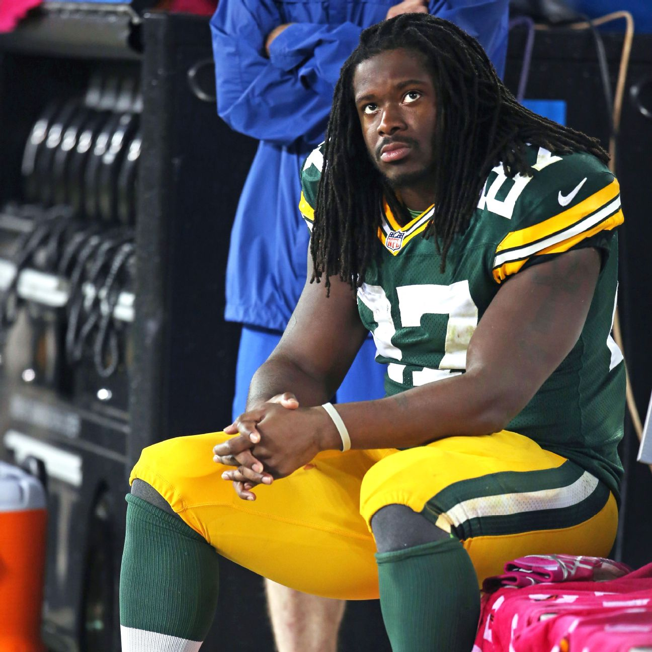 Eddie Lacy Before And After He missed his imagined...