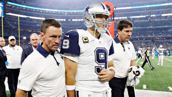 Cowboys lose Tony Romo and the season, too