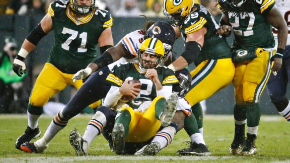 Packers' offense out of sync again in ugly Thanksgiving loss to Bears