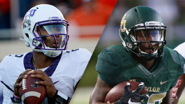 Follow live: Rain causing trouble as Baylor, TCU remain tied