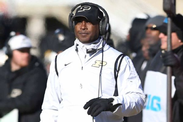 Former Kent State head coach Darrell Hazell fired from Purdue
