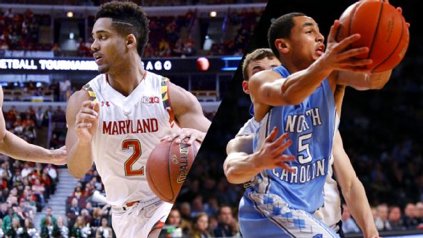 Watch live: Paige returns; Tar Heels lead Terps
