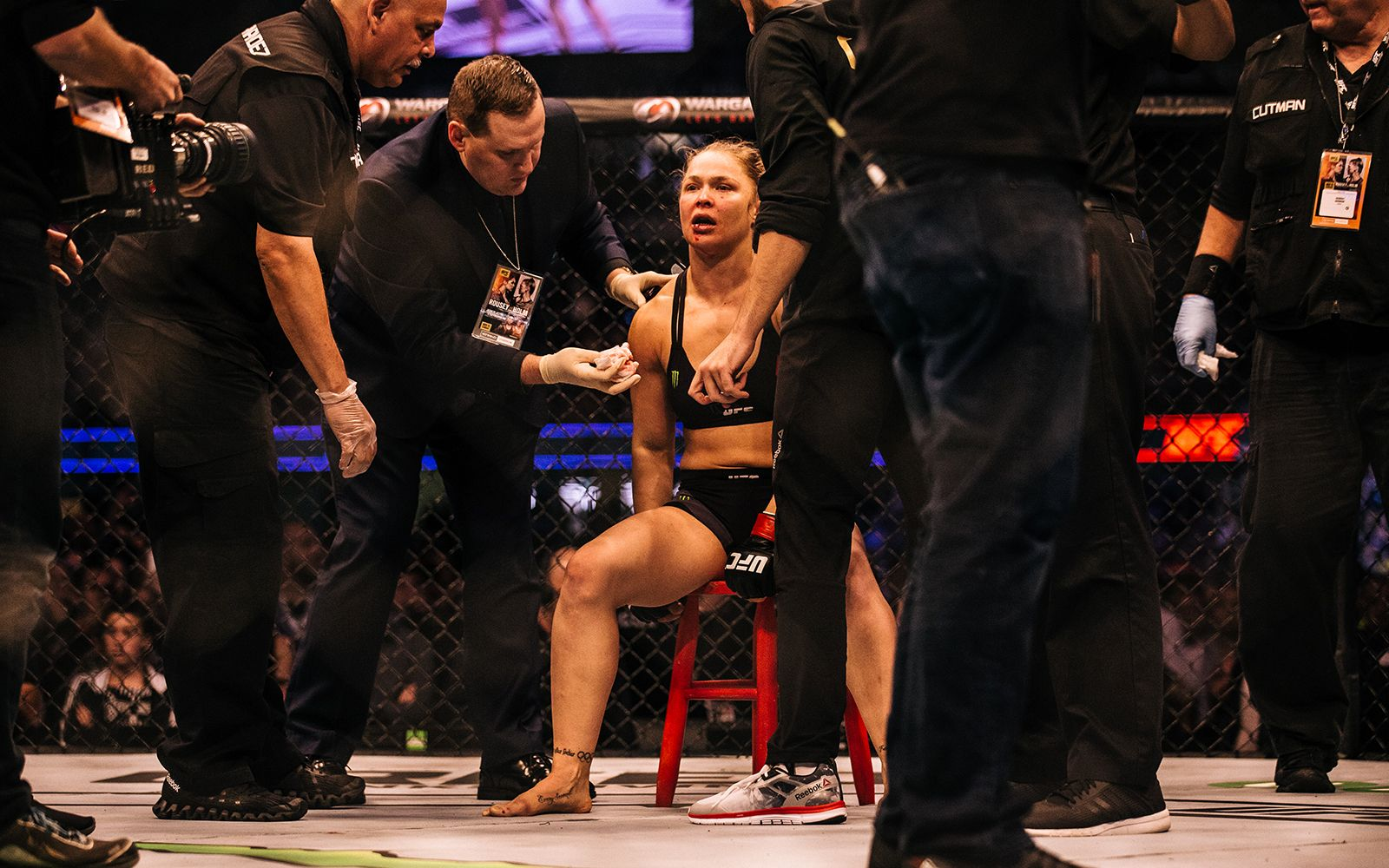 Exclusive: Rousey says she's down but not out