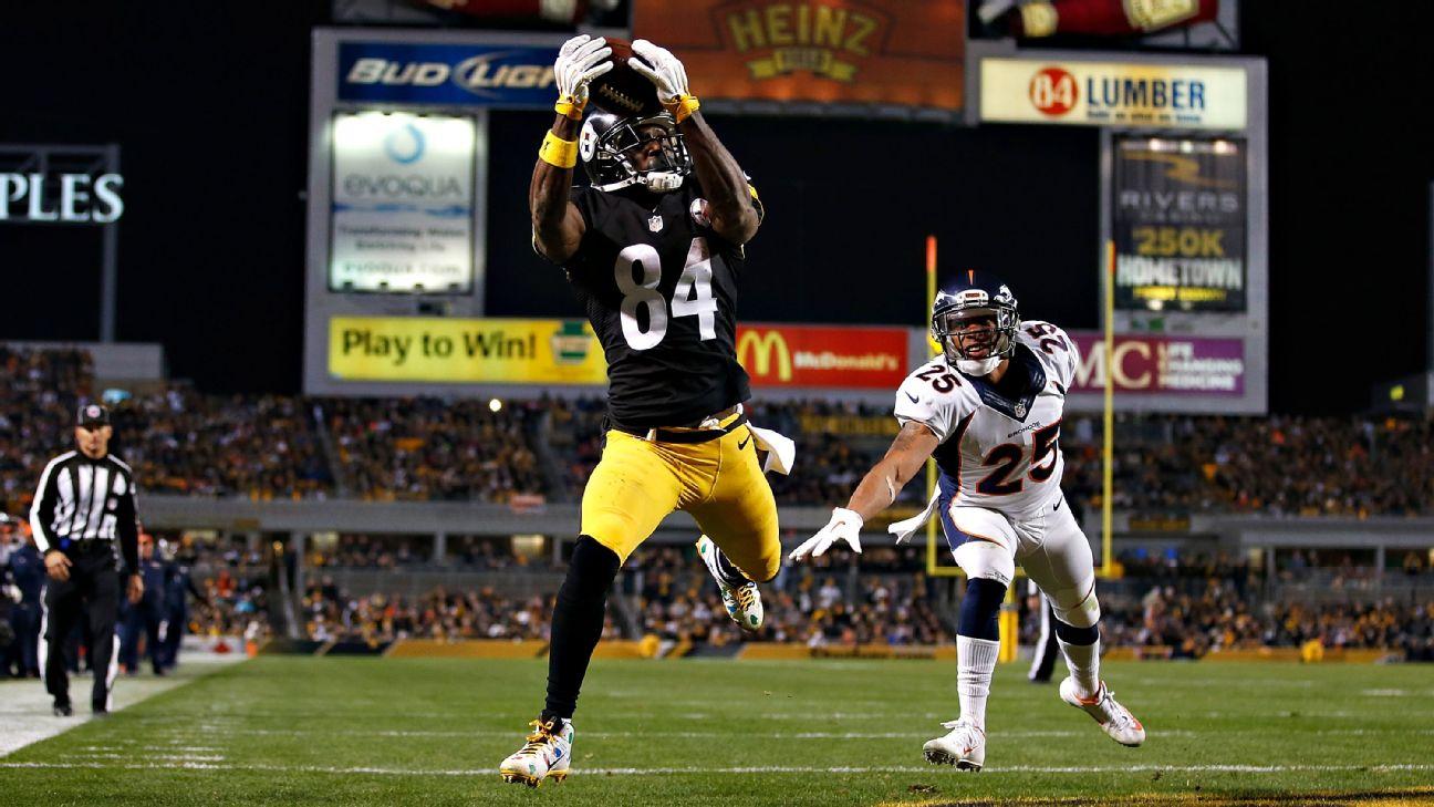 Pittsburgh Steelers wide receiver Antonio Brown talks Starbursts