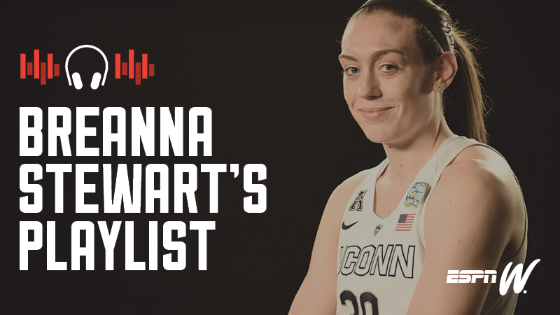 Spotify Athlete Playlist - Breanna Stewart