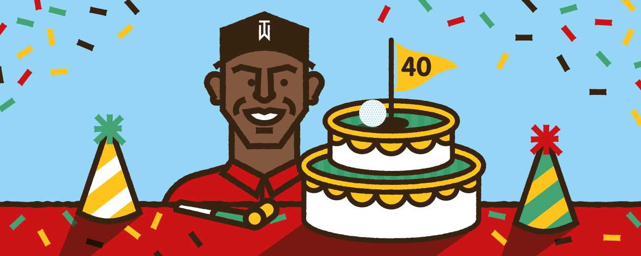 ed62d0fb5bb Tiger Woods - Forty things to know on the 40th birthday of golf s biggest  star