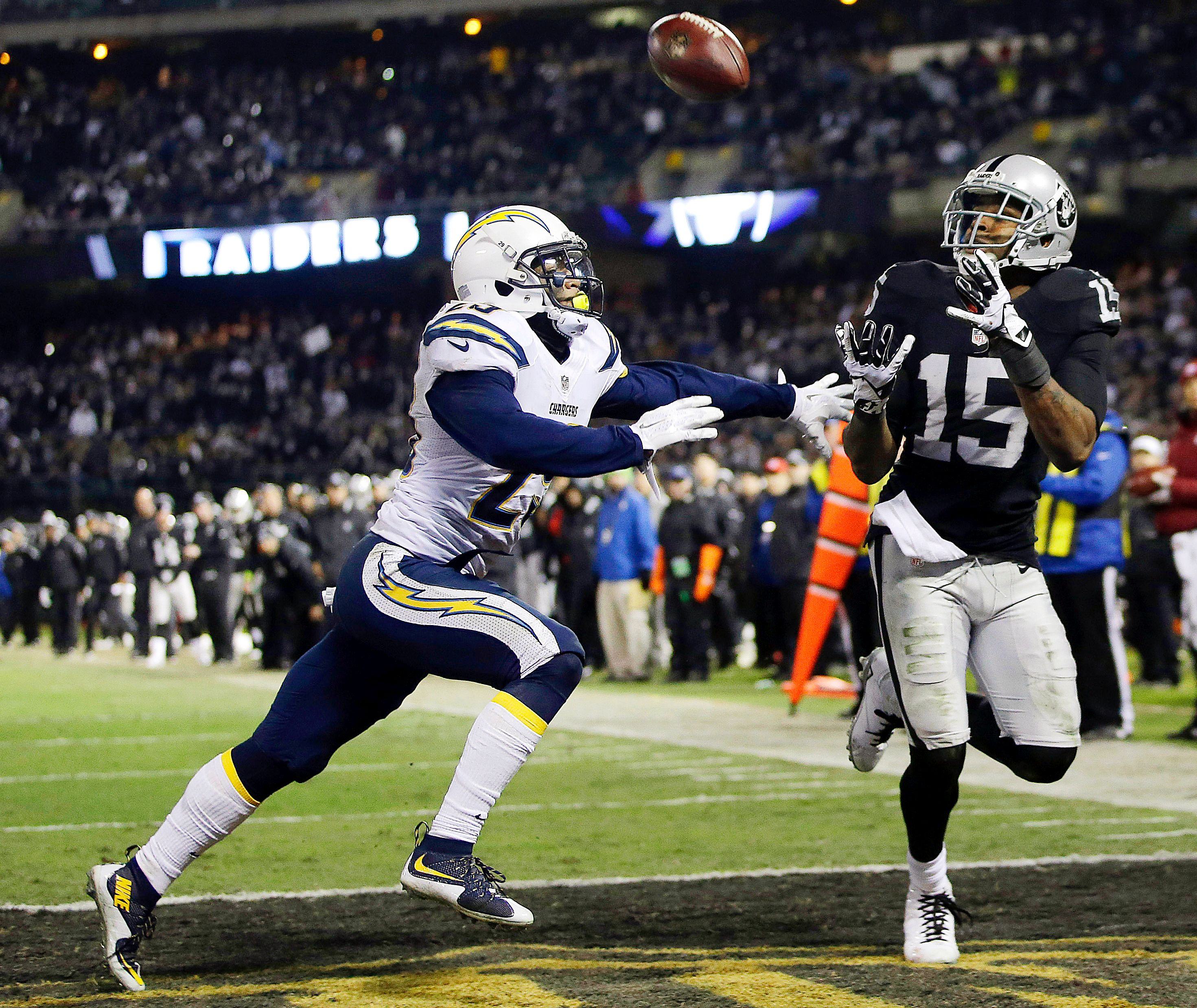 San Diego Chargers Espn: Michael Crabtree, Craig Mager