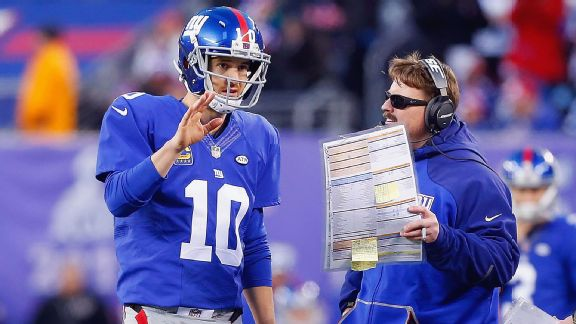 Ben McAdoo, Eli Manning