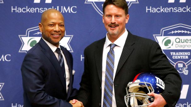Jerry Reese and Ben McAdoo