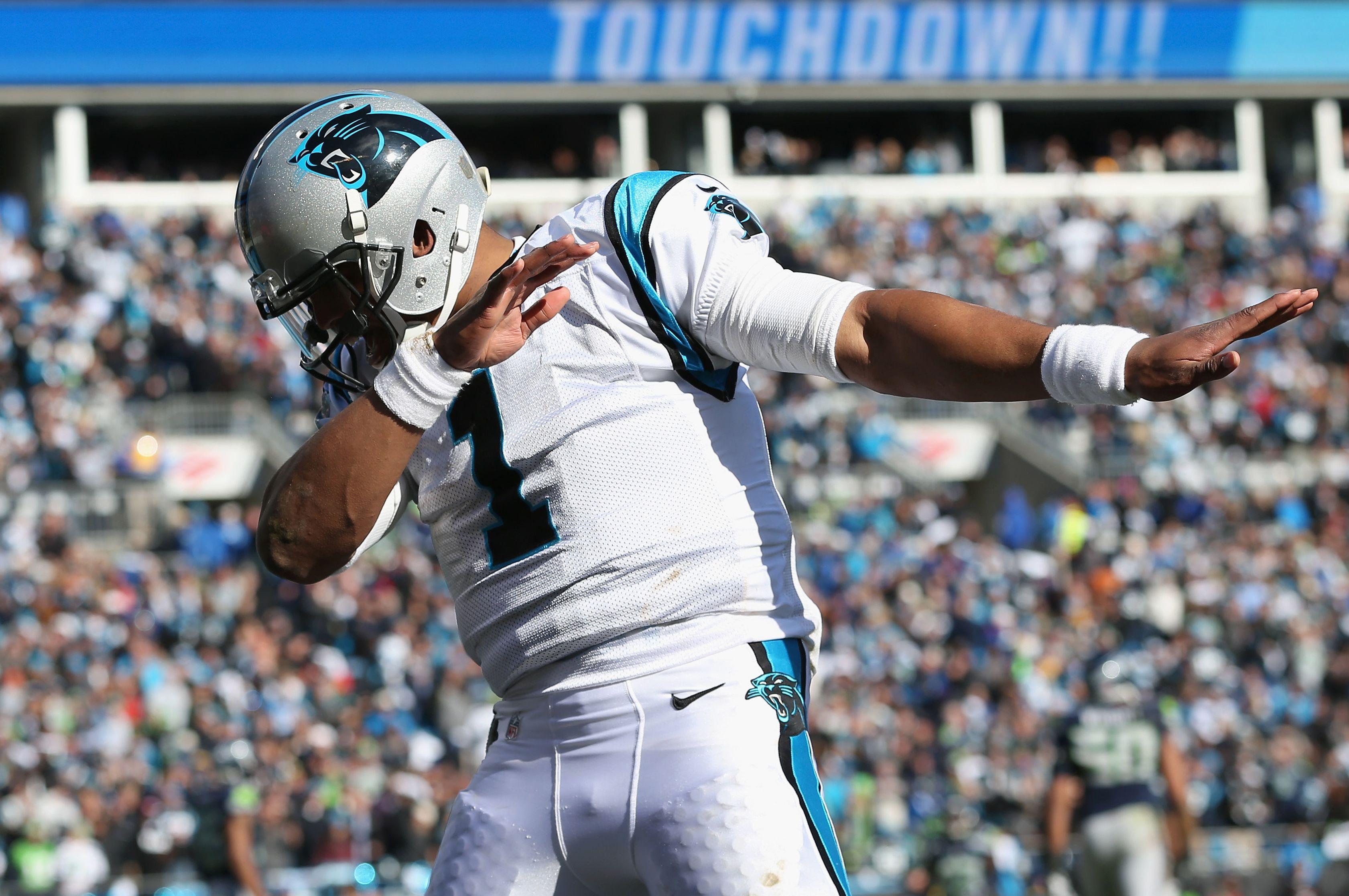 Cam Newton - Photos: NFC Divisional Playoff, Seahawks vs ...