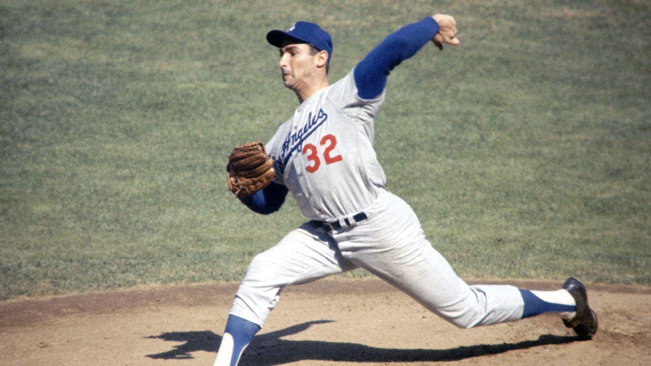 Sale of Sandy Koufax '63 jersey breaks Dodgers memorabilia record | abc7.com
