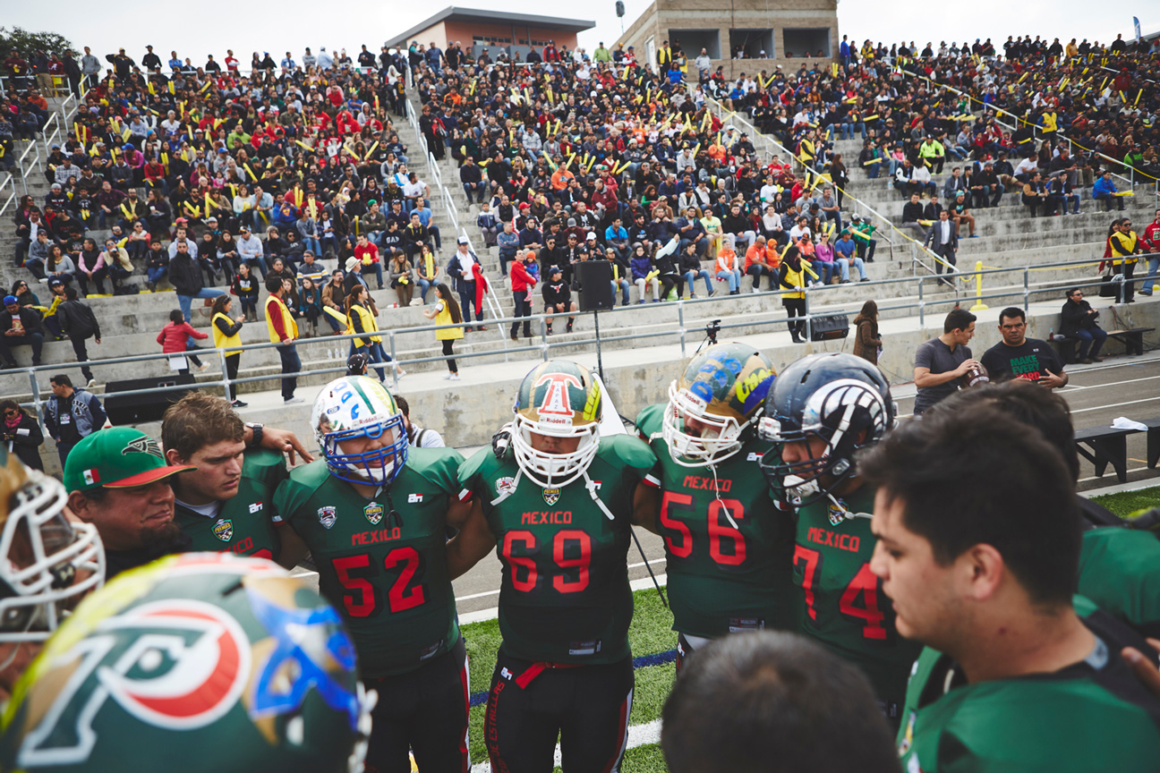 All-star college football teams from the United States and Mexico ... 6dae8ee0e
