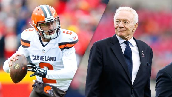 Johnny Manziel, Jerry Jones