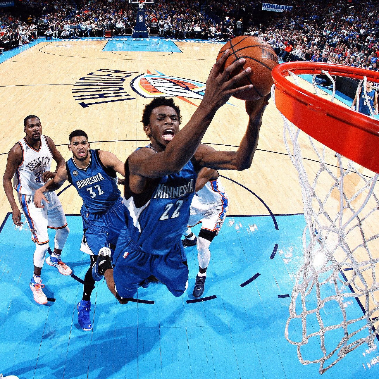 Andrew Wiggins Of Minnesota Timberwolves Defers To