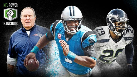 Panthers, Patriots lead 2016 Way-Too-Early Power Rankings