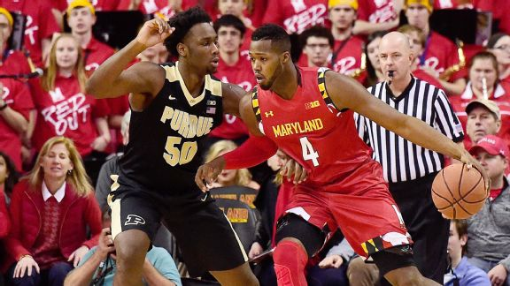 Size? Defense? Maryland has plenty of both in 72-61 win over Purdue