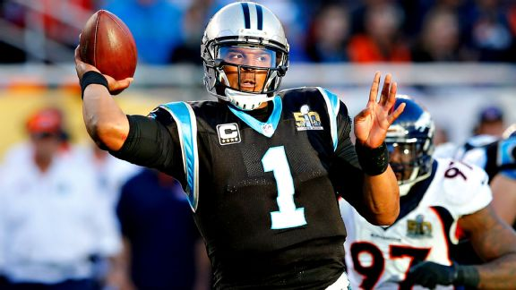 Panthers tight, mistake-prone in first half of Super Bowl 50