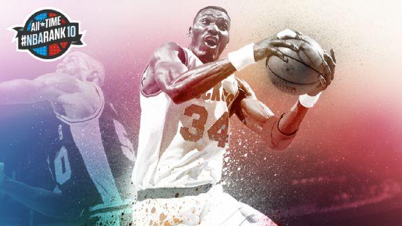 НБА. Лучшие игроки всех времен по версии ESPN. Места 6-10