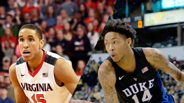 Watch live: Duke looking to knock off Virginia