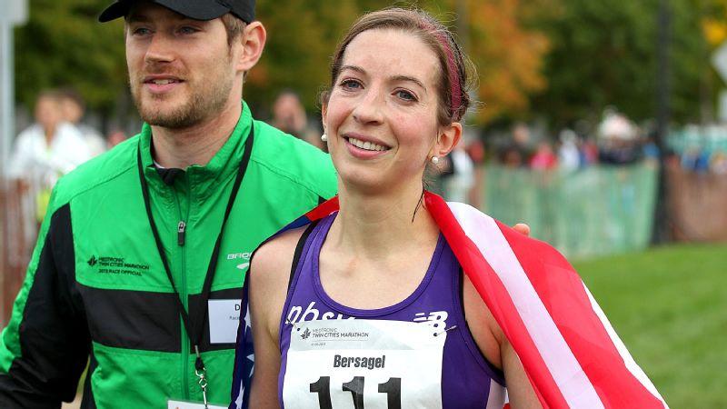 Annie Bersagel, Olympics, marathon