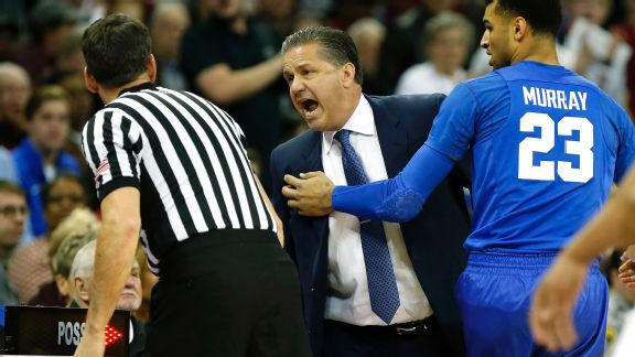 John Calipari's ejection turns Kentucky into a monster