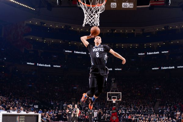 Timberwolves' Zach LaVine out for the season with torn ACL