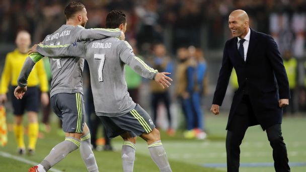 Zidane must refresh his squad and rest Ronaldo to find success at Real Madrid
