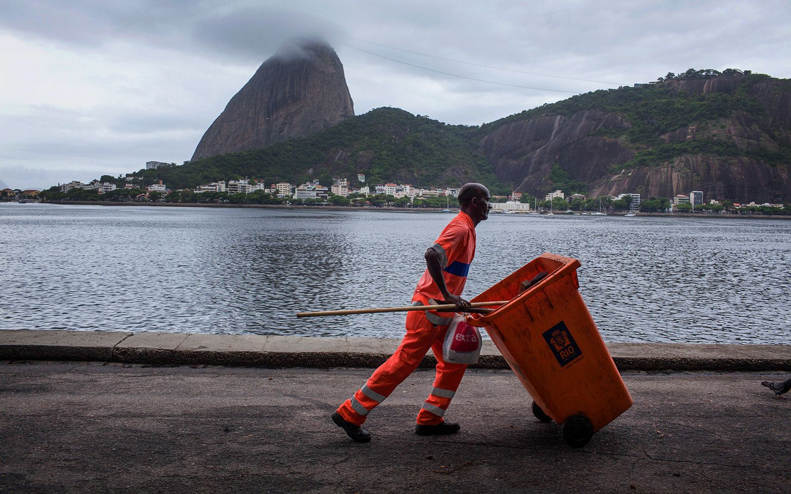 trash and contamination continue to pollute olympic training and