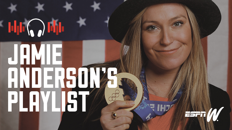 Spotify Athlete Playlist - Jamie Anderson