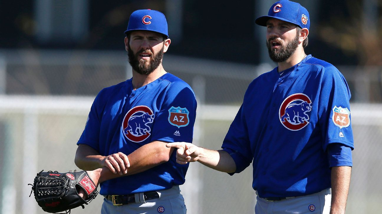 Jason Hammel and Jake Arrieta