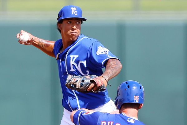 Raul Mondesi, Kansas City Royals