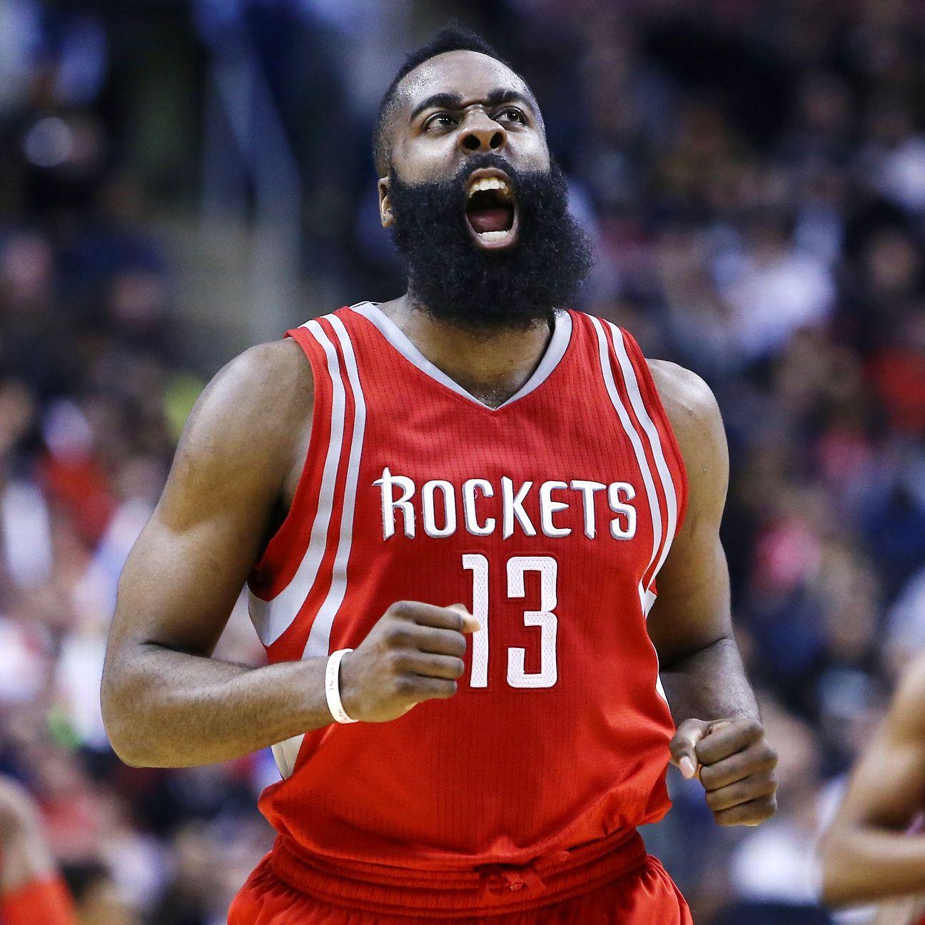 Houston Rockets Vs Oklahoma City Thunder: James Harden Of Houston Rockets Expects To Play Vs