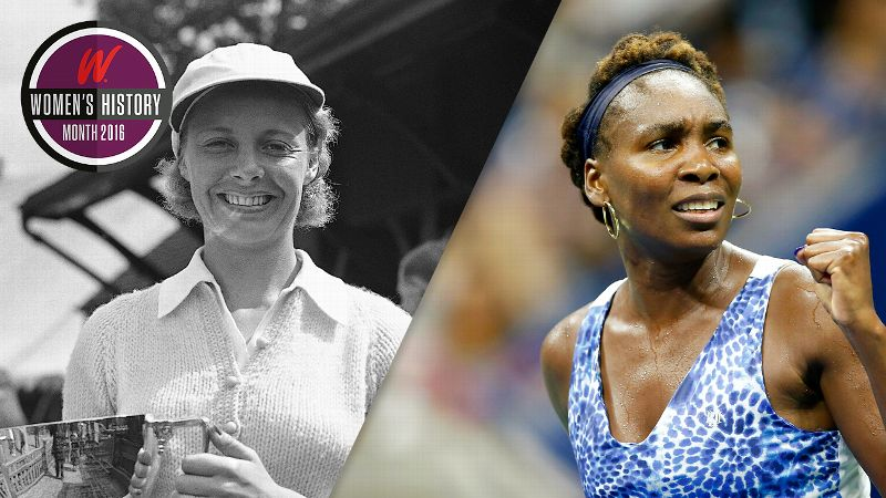Alice Marble, Venus Williams