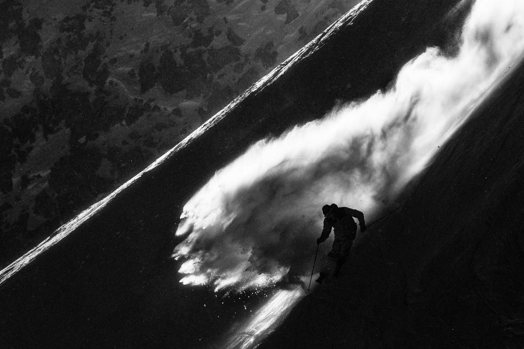 Bernard Rosow, Mammoth Mountain, California