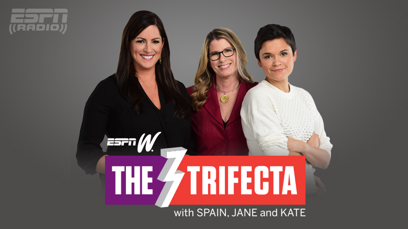 espnW's The Trifecta with Spain, Jane and Kate