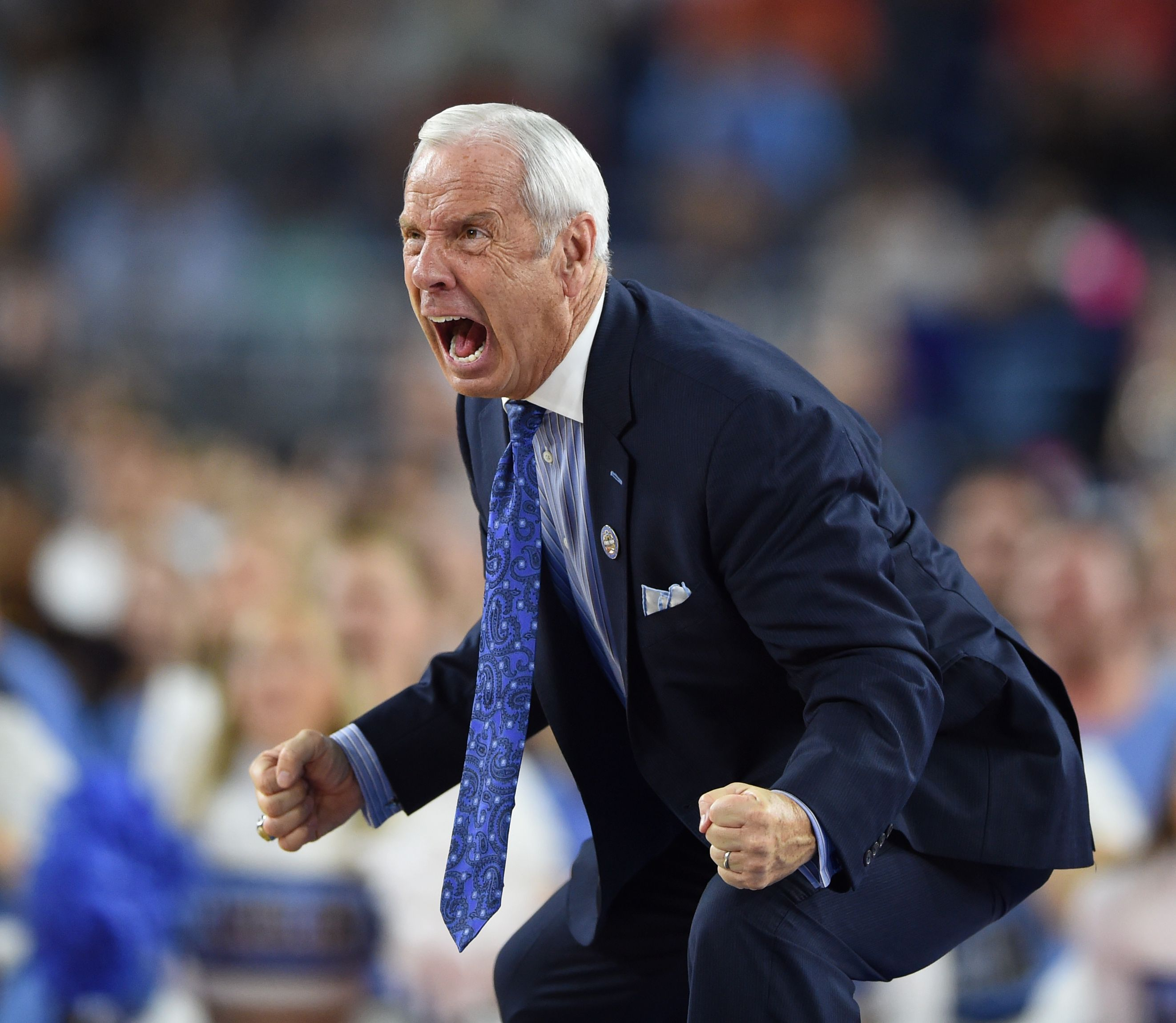 The Roy Williams intensity - The 2016 NCAA Final Four in ...