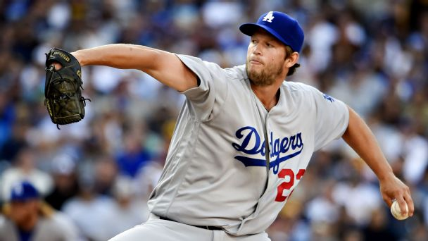 Watch live: Kuhl dueling with Kershaw in MLB debut
