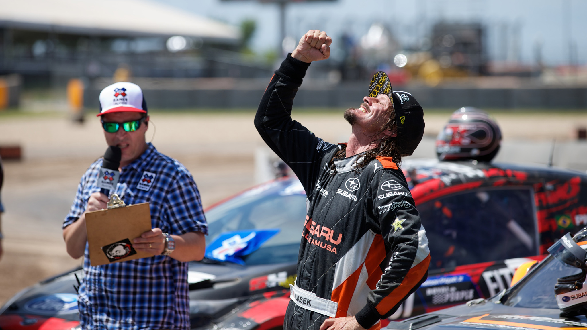 From Skateboard gold to RallyCross silver