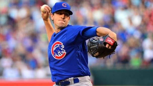 Watch live: Shields shutting down Cubs