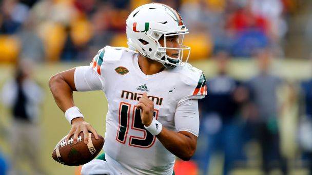 Watch live: Kaaya, Miami answer GT score quickly